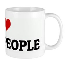 I Love BLACK PEOPLE Mug