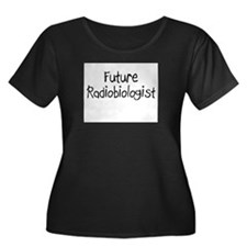 Future Radiobiologist Women's Plus Size Scoop Neck