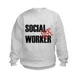 Off Duty Social Worker Sweatshirt