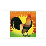 Rise and Shine Dutch Bantam Postcards (Package of