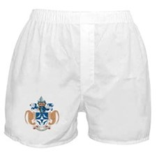 Tristan Da Cunha Coat of Arms Boxer Shorts