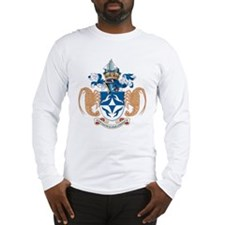 Tristan Da Cunha Coat of Arms Long Sleeve T-Shirt