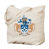 Tristan Da Cunha Coat of Arms Tote Bag