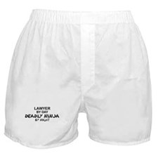 Lawyer Deadly Ninja Boxer Shorts