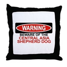 CENTRAL ASIA SHEPHERD DOG Throw Pillow