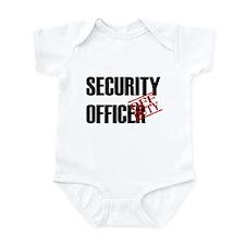 Off Duty Security Officer Infant Bodysuit
