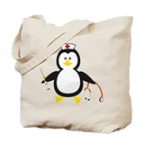 Penguin Nurse Tote Bag
