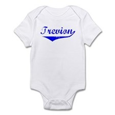 Trevion Vintage (Blue) Infant Bodysuit
