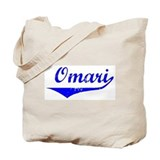 Omari Vintage (Blue) Tote Bag
