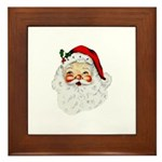 Santa Claus Framed Tile