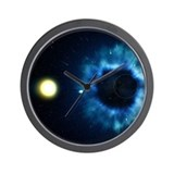 Black Hole & Companion Star - Wall Clock