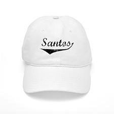 Santos Vintage (Black) Baseball Cap