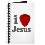 I Pick For Jesus Guitar Pick Journal