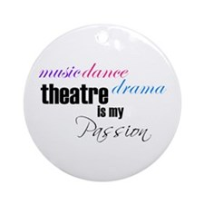 Theatre Passion Ornament (Round)