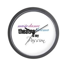 Theatre Passion Wall Clock