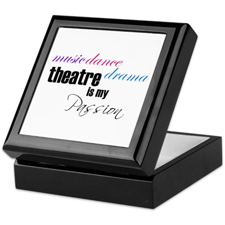 Theatre Passion Keepsake Box
