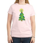 ILY Christmas Tree Women's Light T-Shirt