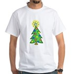 ILY Christmas Tree White T-Shirt