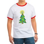 ILY Christmas Tree Ringer T