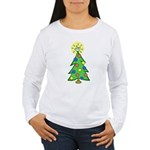 ILY Christmas Tree Women's Long Sleeve T-Shirt