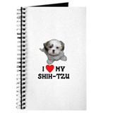 I Love My Shih-Tzu Journal