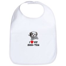 I Love My Shih-Tzu Bib