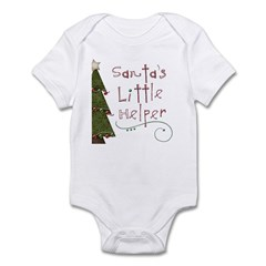 Santa's Helper by Leah Infant Bodysuit