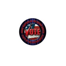 vote Mini Button (10 pack)