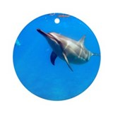 Dolphin Hello Ornament (Round)