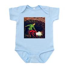 Gold Infant Creeper