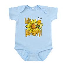 Let's Bee Happy! Infant Bodysuit