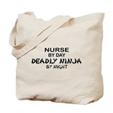 Nurse Deadly Ninja Tote Bag