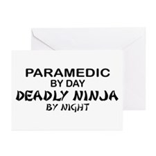 Paramedic Deadly Ninja Greeting Cards (Pk of 10)