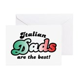 Italian Dads are the Best Greeting Cards (Pk of 10