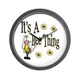 Bee Thing! Wall Clock