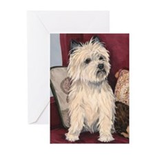 CAIN TERRIER Greeting Cards (Pk of 10)