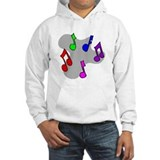 Musical Notes Design Jumper Hoody