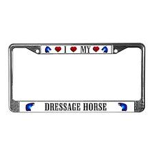 Dressage License Plate Frame