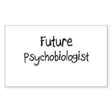 Future Psychobiologist Rectangle Decal