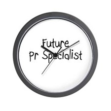 Future Pr Specialist Wall Clock