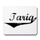 Tariq Vintage (Black) Mousepad
