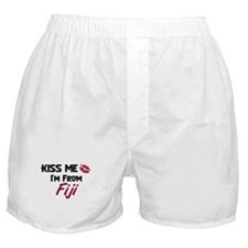 Kiss Me I'm from Fiji Boxer Shorts