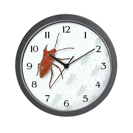 Big Stink Bug Wall Clock