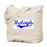 Ryleigh Vintage (Blue) Tote Bag