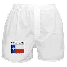 Texas Hold'em Poker Boxer Shorts