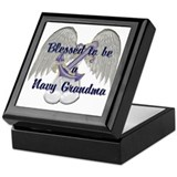 Blessed Navy Grandma Keepsake Box