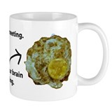 Brain in a Meeting Small Mug