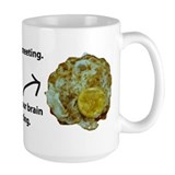 Brain in a Meeting Mug