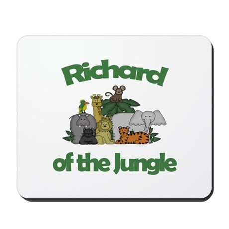 Richard of the Jungle Mousepad
