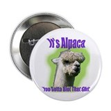"Alpaca Gangsta Wear 2.25"" Button"